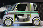 """December 30, 2011, Tokyo, Japan - Daihatsu Motor Co.'s concept car """"PICO"""" is displayed at the 42nd Tokyo Motor Show. The show opens to the general public from December 3-11. (Photo by Christopher Jue/AFLO)"""