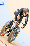 Natasha Hansen of the New Zealand team competes in Women's Sprint - Qualifying as part of the 2017 UCI Track Cycling World Championships on 13 April 2017, in Hong Kong Velodrome, Hong Kong, China. Photo by Chris Wong / Power Sport Images