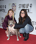 Elisha Cuthbert, Rebecca Corry and Angel attends The 4th Annual Stand Up for Pits event at the Hollywood Improv in West Hollywood, California on November 02,2014                                                                               © 2014 Hollywood Press Agency