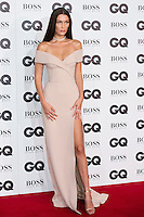 Bella Hadid arrives for the GQ Men Of The Year Awards 2016 at the Tate Modern, London