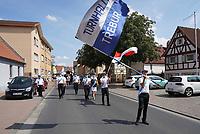 Trebur 16.08.2020: Corona Kerb<br /> Kerweumzug<br /> Foto: Vollformat/Marc Schüler, Schäfergasse 5, 65428 R'heim, Fon 0151/11654988, Bankverbindung KSKGG BLZ. 50852553 , KTO. 16003352. Alle Honorare zzgl. 7% MwSt.