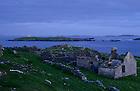 June 6, 2012; Abandoned homes, Inishark Island, Ireland...Photo by Matt Cashore/University of Notre Dame