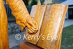 Monk of Inisfallen sculpture