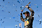 2017 Monster Energy NASCAR Cup Series - Kobalt 400<br /> Las Vegas Motor Speedway - Las Vegas, NV USA<br /> Sunday 12 March 2017<br /> Martin Truex Jr, Bass Pro Shops/TRACKER BOATS Toyota Camry celebrates his win in Victory Lane<br /> World Copyright: Nigel Kinrade/LAT Images<br /> ref: Digital Image 17LAS1nk07526