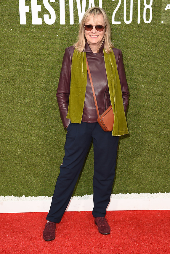 """Twiggy<br /> arriving for the London Film Festival screening of """"The Man Who Killed Don Quixote"""" at the Embankment Gardens<br /> <br /> ©Ash Knotek  D3445  16/10/2018"""