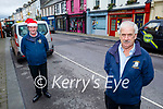 Brendan Wilmot (front right) and Thomas Costello from Listowel looking forward to Christmas shopping in Listowel