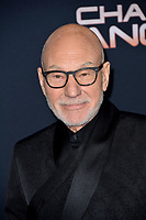 """LOS ANGELES, USA. November 12, 2019: Patrick Stewart at the world premiere of """"Charlie's Angels"""" at the Regency Village Theatre.<br /> Picture: Paul Smith/Featureflash"""