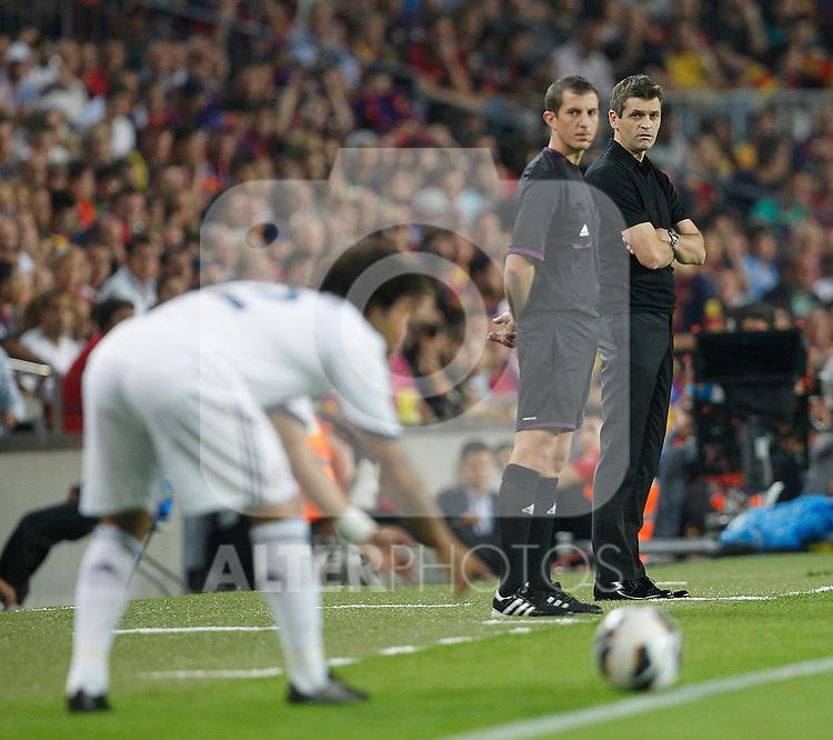 Barcelona's Tito Vilanova during la Liga match on october 7th 2012. ..Photo: Cesar Cebola  / ALFAQUI