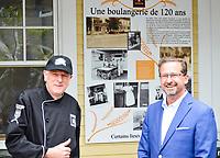 Le chef du Bloc Québécois, Yves-François Blanchet était de passage dans la circonscription de Beloeil-Chambly, le 3 septembre 2021, dans le cadre de l'élection fédérale 2021.<br /> <br /> PHOTO : Agence Quebec Presse - Mathieu Tye