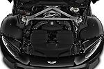 Car Stock 2018 Aston Martin Vantage - 2 Door Coupe Engine  high angle detail view