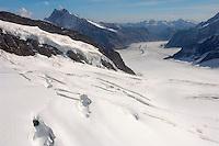 Jungfrau Glaciers  - Bernese Oberland Alps - Switzerland