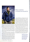 Canadian Geographic - Cryosphere Kid - January 2010.