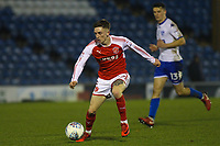 Fleetwood Town's Ashley Hunter during the The Checkatrade Trophy match between Bury and Fleetwood Town at Gigg Lane, Bury, England on 9 January 2018. Photo by Juel Miah/PRiME Media Images.