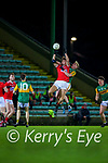 Conor Horan, Kerry in action against Eoghan Nash, Cork during the Munster Minor Semi-Final between Kerry and Cork in Austin Stack Park on Tuesday evening.