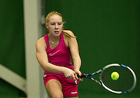 Almere, Netherlands, December 6, 2015, Winter Youth Circuit, Melissa Boyden<br /> Photo: Tennisimages/Henk Koster