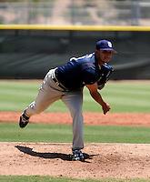 Matt Bush - AZL Padres..Photo by:  Bill Mitchell/Four Seam Images