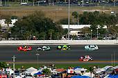 #7: Justin Allgaier, JR Motorsports, Chevrolet Camaro BRANDT Professional Agriculture and #19: Brandon Jones, Joe Gibbs Racing, Toyota Supra Juniper