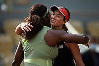 4th July 2021; Roland Garros, Paris France; French Open tennis championships day 6;  Danielle Collins ( Etats Unis ) - Serena Williams (USA )