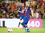 FC Barcelona's Leo Messi during Supercup of Spain 2nd match.August 17,2016. (ALTERPHOTOS/Acero)