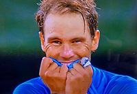 Paris, France, 10 /10/ 2020, Tennis, French Open, Roland Garros,  Womans Wheelchair Doubles: Final winners Aniek van Koot (NED) and Dide de Groot (NED)  <br /> Photo: tennisimages.com