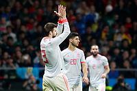 Spain's Gerard Pique during international friendly match. March 27,2018.(ALTERPHOTOS/Acero) /NortePhoto.com NORTEPHOTOMEXICO