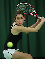 10-3-06, Netherlands, tennis, Rotterdam, National indoor junior tennis championchips, Jade Schoelink
