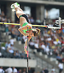 11.09.2011, Olympic Stadium / Olympiastadion, Berlin, GER, ISTAF 2011, im Bild Kristina GADSCHIEW (GER) in der Disziplin Frauen - Stabhochsprung // Kristina GADSCHIEW (GER) competing in Women - Pole Vault during the ISTAF 2011 held in Berlin, GER, EXPA Pictures © 2011, PhotoCredit: EXPA/ S. Kiesewetter
