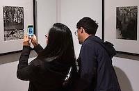 Inaugurazione della mostra retrospettiva del fotografo Henri Cartier-Bresson, al Museo dell'Ara Pacis, Roma, 25 settembre 2014.<br /> Inauguration of the retrospective exhibition dedicated to French photographer Henri Cartier-Bresson at the Ara Pacis Museum in Rome, 25 September 2014.<br /> UPDATE IMAGES PRESS/Riccardo De Luca