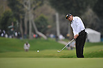 Feb 22, 2009: Andres Romero during the final round of the Northern Trust Open 2009 in the Pacific Palisades, California.
