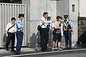 Tokyo Police patrols Pro-Pyongyang General Association of Korean Residents