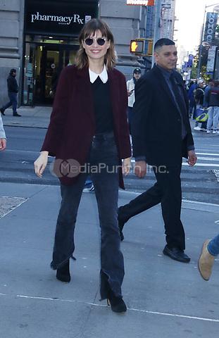 November 01, 2019 Katja Herbers at Build Series to talk about new CBS series Evil in New York.November 01, 2019 Credit:RW/MediaPunch