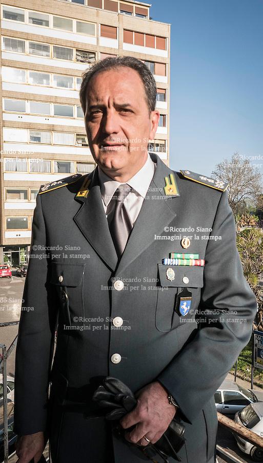 - NAPOLI 16  APR -   il Generale di Divisione Fabrizio Carrarini