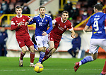 Aberdeen v St Johnstone…26.12.20   Pittodrie      SPFL<br />David Wotherspoon is crowded out by Lewis Ferguson and Tommie Hobban<br />Picture by Graeme Hart.<br />Copyright Perthshire Picture Agency<br />Tel: 01738 623350  Mobile: 07990 594431