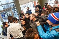 Tournee JustinTrudeau le 18 janvier 2017, Tim Hortons, Candiac <br /> <br /> <br /> PHOTO : <br /> - Agence Quebec presse