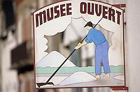 Europe/France/Pays de la Loire/44/Loire-Atlantique/Batz-sur-Mer: Enseigne du musée des marais salants