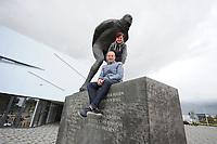 SCHAATSEN: LEEUWARDEN: 16-09-2017, Henk Angenent, ©foto Martin de Jong