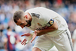 Real Madrid's Karim Benzema during La Liga match between Real Madrid and SD Eibar at Santiago Bernabeu Stadium in Madrid, Spain.April 06, 2019. (ALTERPHOTOS/A. Perez Meca)