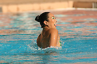 STANFORD, CA - FEBRUARY 13:  Debbie Chen during Stanford's win over Arizona on February 13, 2010 at the Avery Aquatic Center in Stanford, California.