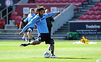 Sheffield Wednesday's Elias Kachunga during the pre-match warm-up <br /> <br /> Photographer Ian Cook/CameraSport<br /> <br /> The EFL Sky Bet Championship - Bristol City v Sheffield Wednesday - Sunday 27th September, 2020 - Ashton Gate - Bristol<br /> <br /> World Copyright © 2020 CameraSport. All rights reserved. 43 Linden Ave. Countesthorpe. Leicester. England. LE8 5PG - Tel: +44 (0) 116 277 4147 - admin@camerasport.com - www.camerasport.com