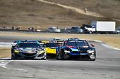 #86 Michael Shank Racing with Curb-Agajanian Acura NSX, GTD: Katherine Legge, Alvaro Parente, #24 BMW Team RLL BMW M8 GTLM: John Edwards, Jesse Krohn