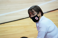 Las Vegas, NV - December 06: Tara Vanderveer during a game between Washington and Stanford University at Cox Pavillion on December 06, 2020 in Las Vegas, Nevada.
