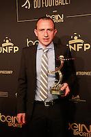 RUDDY BUQUET elu Meilleur Arbitre de ligue 1 - 25eme Ceremonie des Trophees UNFP au Pavillon Gabriel