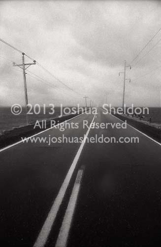 Road diminishing to the horizon<br />