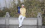 SUZHOU, CHINA - APRIL 18:  Y.E. Yang of Korea poses with the trophy after winning the Volvo China Open on April 18, 2010 in Suzhou, China. Photo by Victor Fraile / The Power of Sport Images