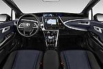 Stock photo of straight dashboard view of 2017 Toyota Mirai Mirai 4 Door Sedan Dashboard