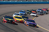 Monster Energy NASCAR Cup Series<br /> TicketGuardian 500<br /> ISM Raceway, Phoenix, AZ USA<br /> Sunday 11 March 2018<br /> Denny Hamlin, Joe Gibbs Racing, Toyota Camry FedEx Freight Martin Truex Jr., Furniture Row Racing, Toyota Camry 5-hour ENERGY/Bass Pro Shops<br /> World Copyright: Matthew T. Thacker<br /> NKP / LAT Images