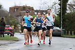 2020-02-23 Hampton Court Half 050 IM Weston Green Rd