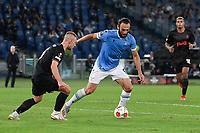 30th September 2021;  Stadio Olimpico, Rome, Italy;Europa League Football, SS Lazio versus Lokomotiv Moscow: Vedat Muriqi of SS Lazio