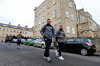 Photo: Richard Lane/Richard Lane Photography. Bath  Rugby v Wasps.  European Rugby Champions Cup. 12/10/2018. Wasps' Nathan Hughes and Lima Sopoaga.