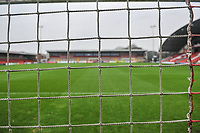 Fleetwood Town's Highbury stadium during the Sky Bet League 1 match between Fleetwood Town and Burton Albion at Highbury Stadium, Fleetwood, England on 15 December 2018. Photo by Stephen Buckley / PRiME Media Images.